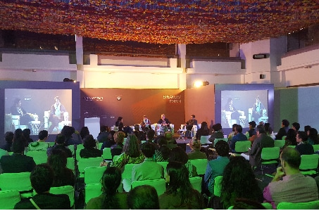 Speaker's forum India Art Fair 2017